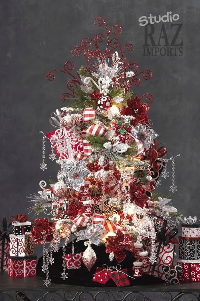 Arbol de navidad 2015 2016 117 curso de organizacion for Decoracion de arboles de navidad 2016
