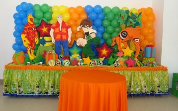 decoracion de fiesta de ben 10
