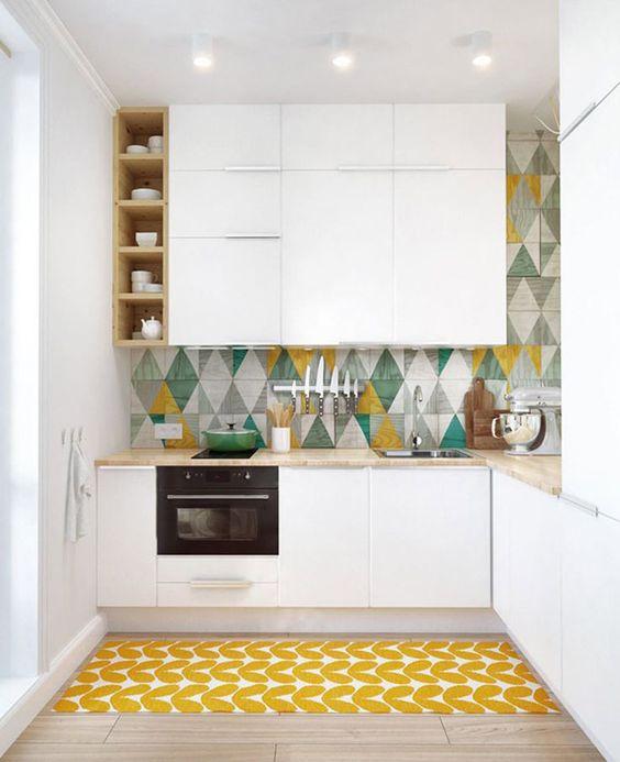 cocinas en color amarillo vogue 2018 (2)