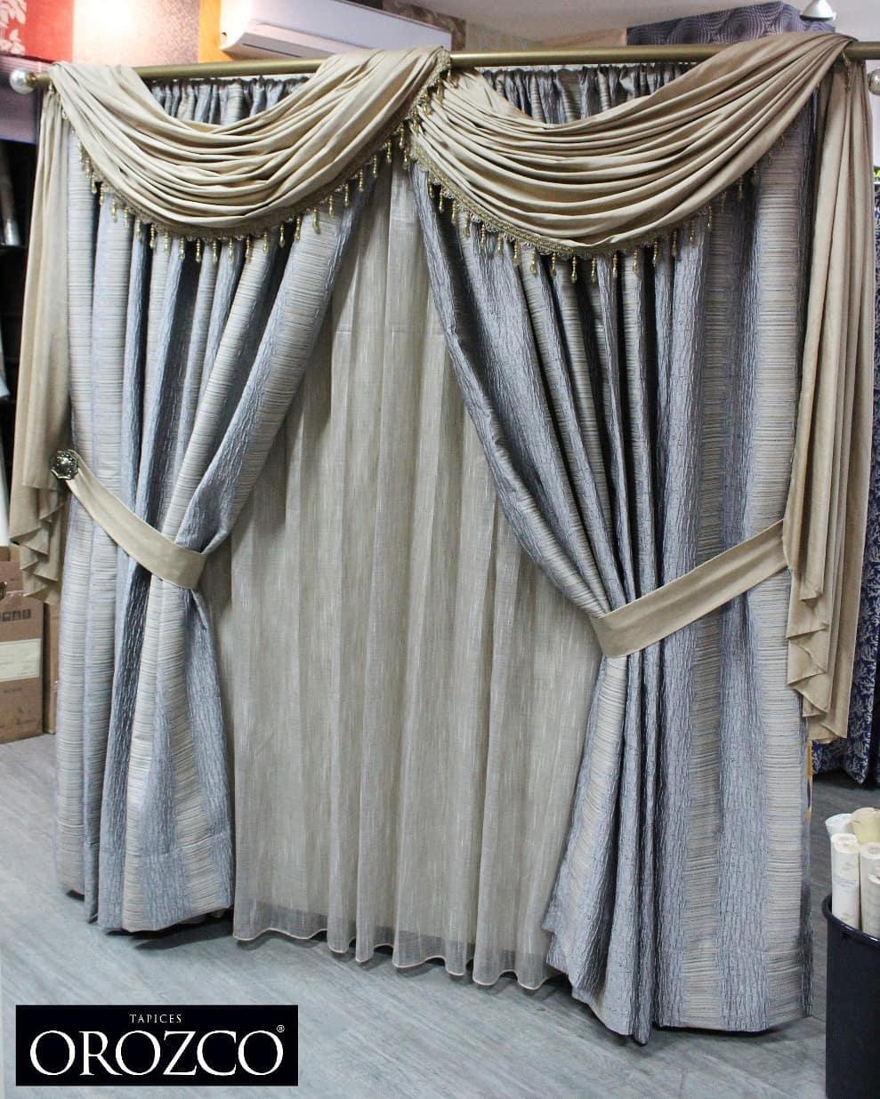 cortina para salas modernas
