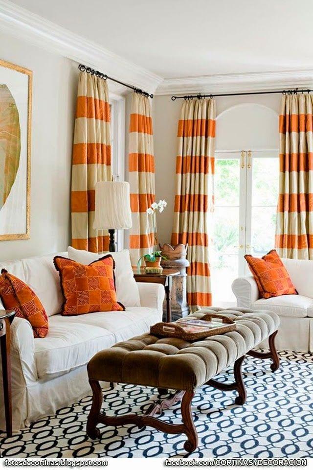 Cortinas para sala 12 curso de organizacion del hogar y decoracion de interiores - Decoracion de interiores cortinas ...
