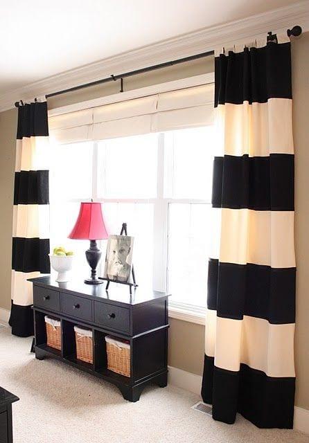 Cortinas para sala curso de organizacion del hogar y for Decoracion de cortinas para sala