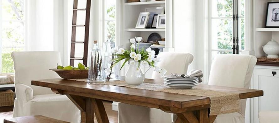Decoracion de comedores con mesas rusticas glam   curso de ...