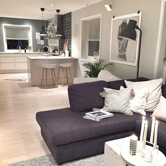 Tendencia en decoraci n de cocinas 2018 elegantes y for Casa con cocina y comedor juntos