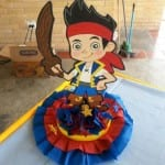 Decoracion de fiesta de jake y los piratas