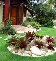 Decoracion de jardines con piedras 18 curso de for Jardines pequenos con piedras blancas
