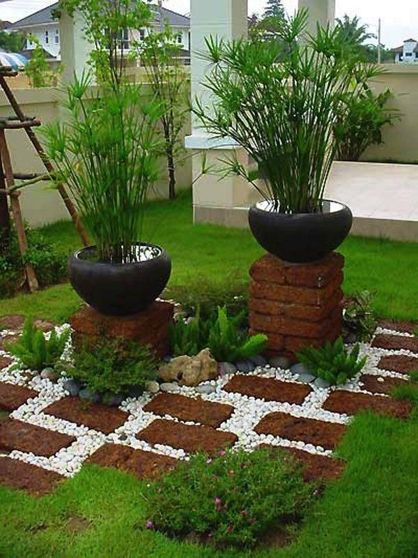 decoracion-de-jardines-con-piedras (20) - Curso de Organizacion del ...
