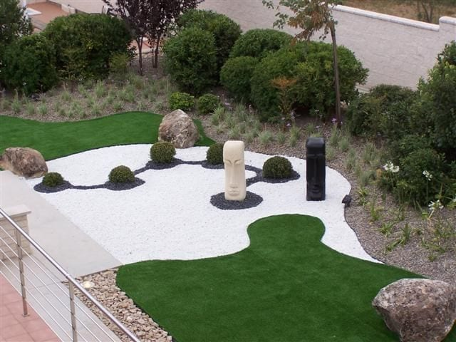 Decoracion de jardines con piedras 23 curso de for Piedras blancas para decoracion