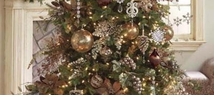 Decoracion de navidad verde con cobre curso de for Decoracion hogar verde