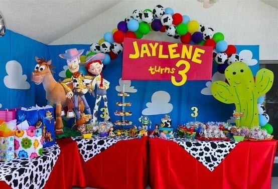 Decoracion de fiesta toys tory