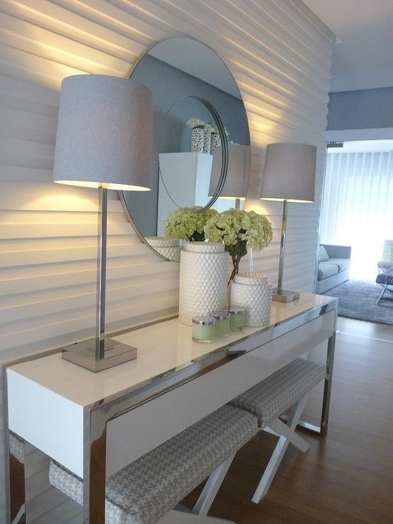 Decoracion de recibidores curso de organizacion del hogar - Recibidores minimalistas ...