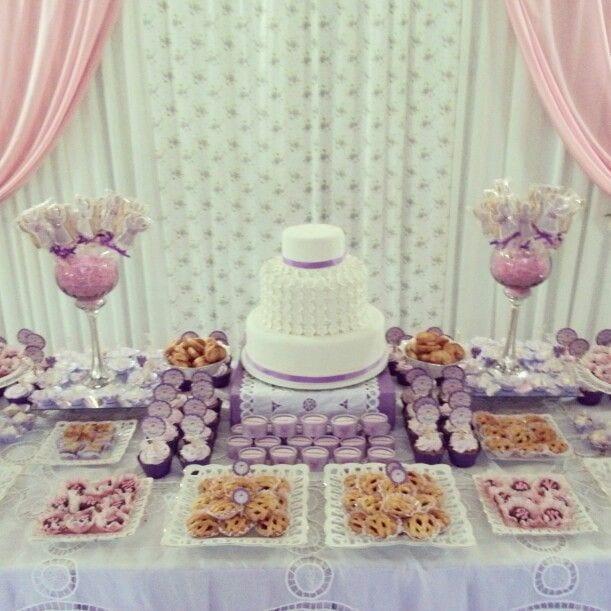 Decoracion en primera comunion 19 curso de - Ideas para mesas dulces de comunion ...