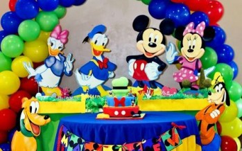 Decoracion fiesta de mickey mouse