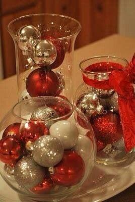 Decoracion navidad rojo con dorado 3 curso de for Decoracion del hogar navidad 2015