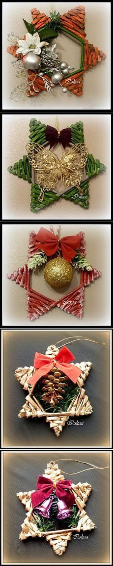 Decoracion navide a con estrellas 10 curso de - Decoracion con estrellas ...