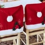 Decoracion sillas de navidad