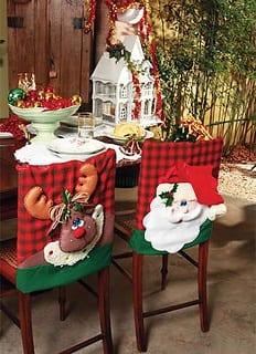 Decoraciónsillas de navidad