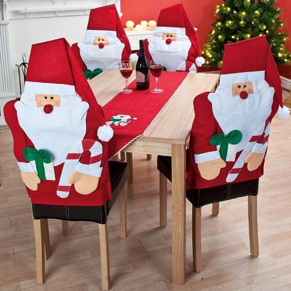 Decoracion sillas navidad 37 copia curso de for Decoracion del hogar navidad 2015
