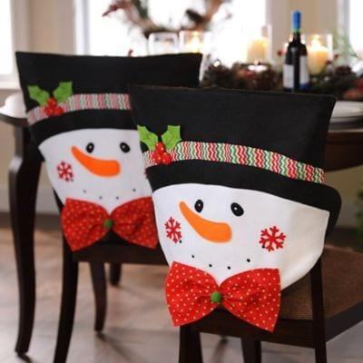 Decoracion sillas de navidad curso de organizacion del for Decoracion del hogar navidad 2015