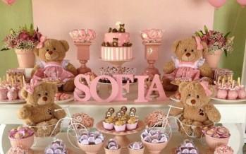 Fiestas Infantiles Baby shower de osos