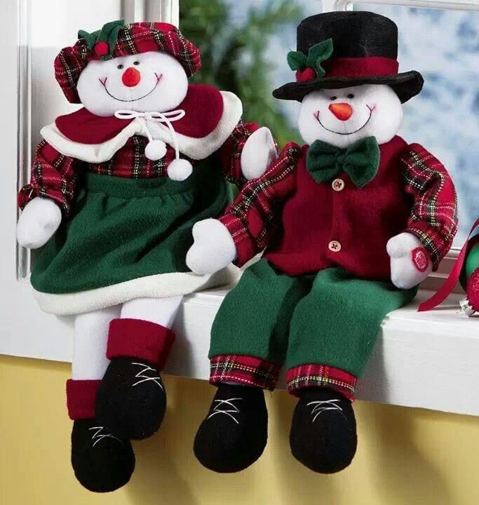 Decoracion De Navidad Con Monos De Nieve Curso De Organizacion Del