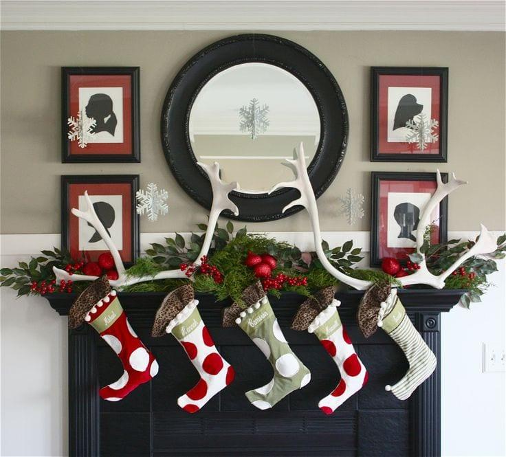 Ideas para decorar chimeneas en navidad curso de - Ideas para chimeneas ...