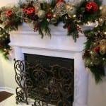 Ideas para decorar Chimeneas en Navidad