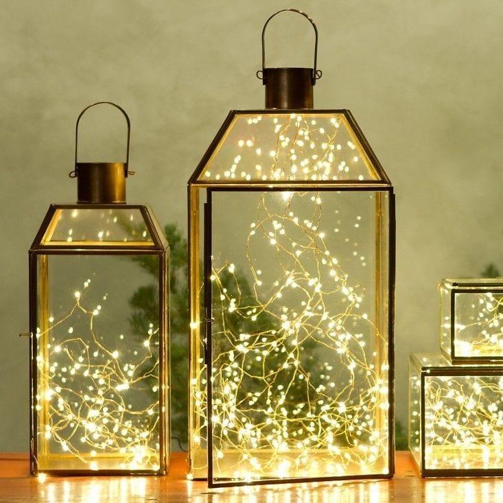 Ideas para decorar con luces de navidad