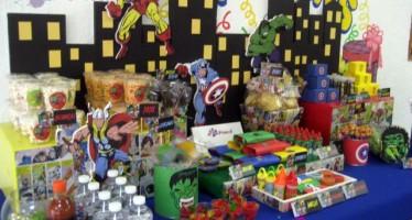 Decoracion de fiestas piñatas de avanger