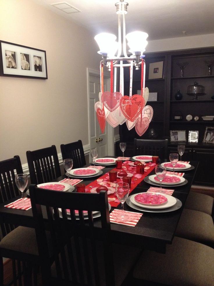 Mesas san valentin 35 curso de organizacion del hogar for Decoracion mesa san valentin