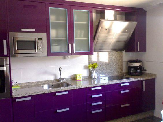 moda en cocinas de color morado 2018 (2)
