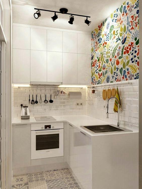 moda en color para decoracion de cocinas 2018 (7)