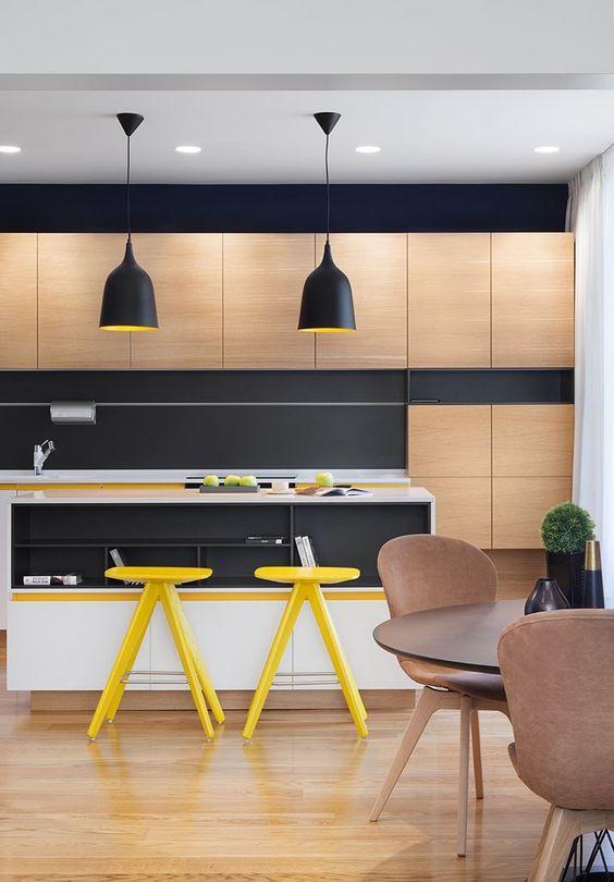 moda en color para decoracion de cocinas 2018 (8)