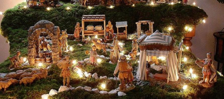 decoracion de navidad de nacimientos curso de