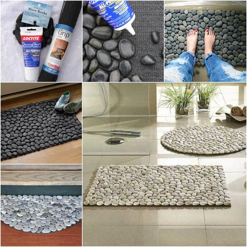 Paso a paso manteles de piedras curso de organizacion - Piedras para decoracion de interiores ...