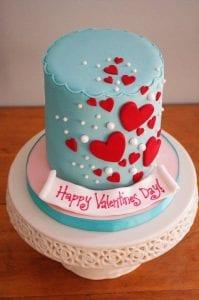 Pasteles de san valentin