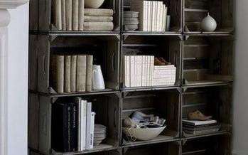 Reciclar cajas de madera diy