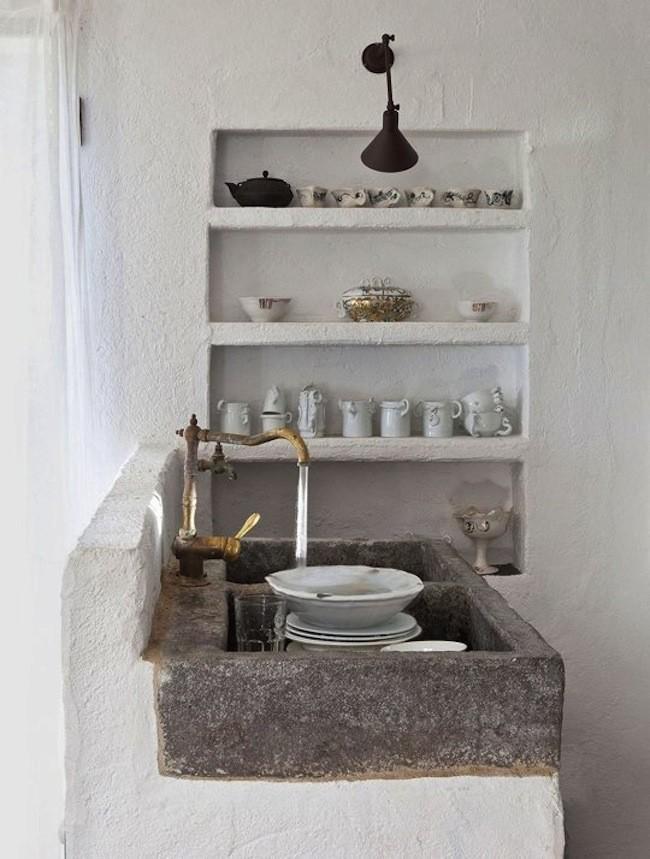 Tendencia en decoraci n de cocinas 2018 elegantes y - Grifos de cocina rusticos ...