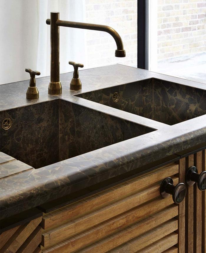 tendencia en fregaderos lavaplatos o grifos para decoracion de cocinas 2018 (3)