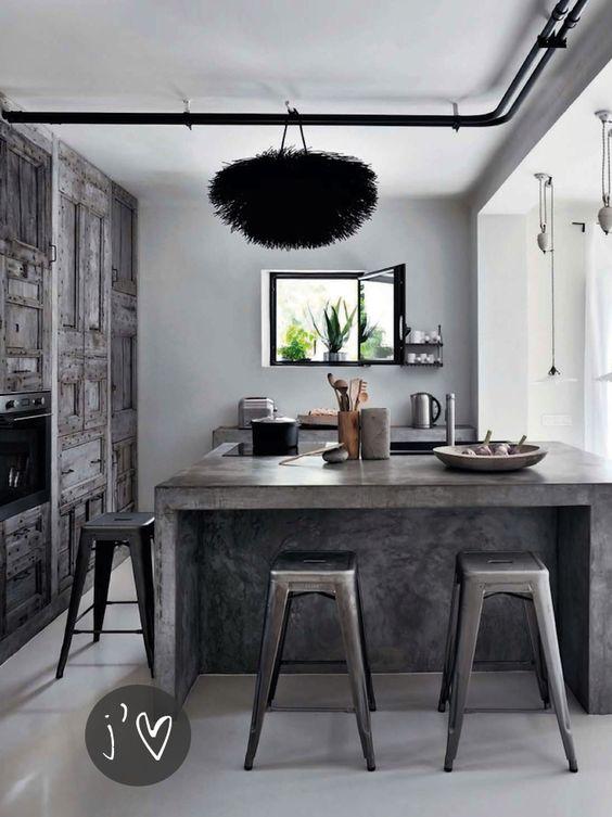 tendencia en marmol para encimera o barra para cocinas 2018 (3)