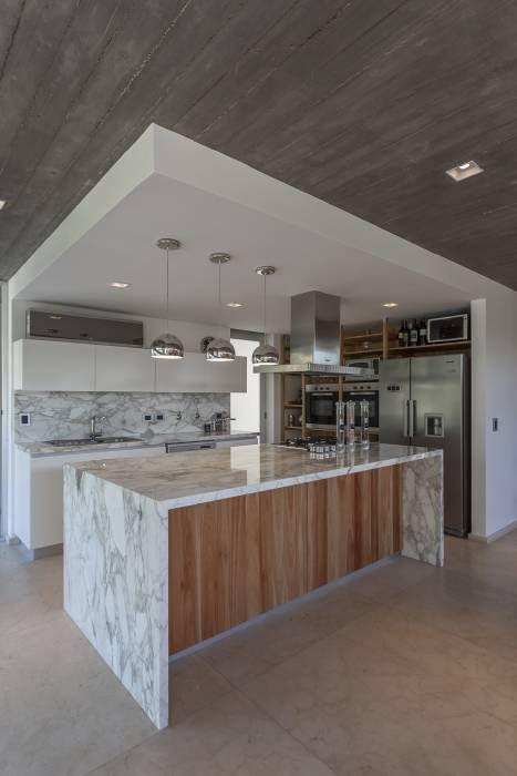 tendencia en marmol para encimera o barra para cocinas 2018 (6)