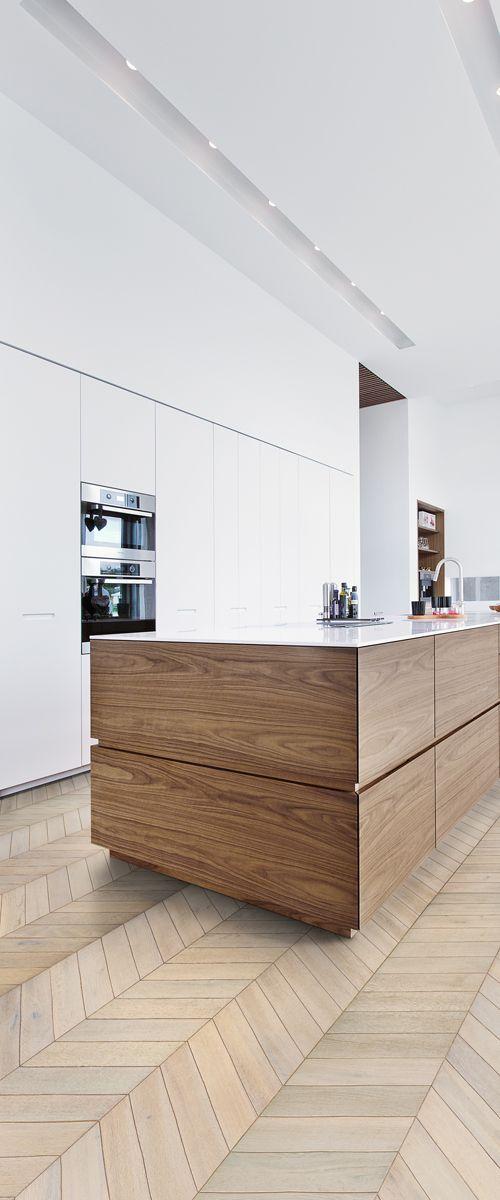 tendencia en suelos o pisos para cocinas modernas 2018