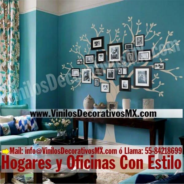 Vinilos para pared arbol para fotos curso de for Vinilos de pared personalizados