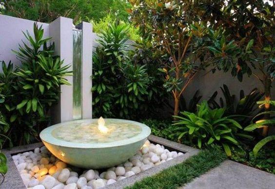 30 ideas para decorar tu jardin con fuentes 2 curso de - Fuentes de patio ...