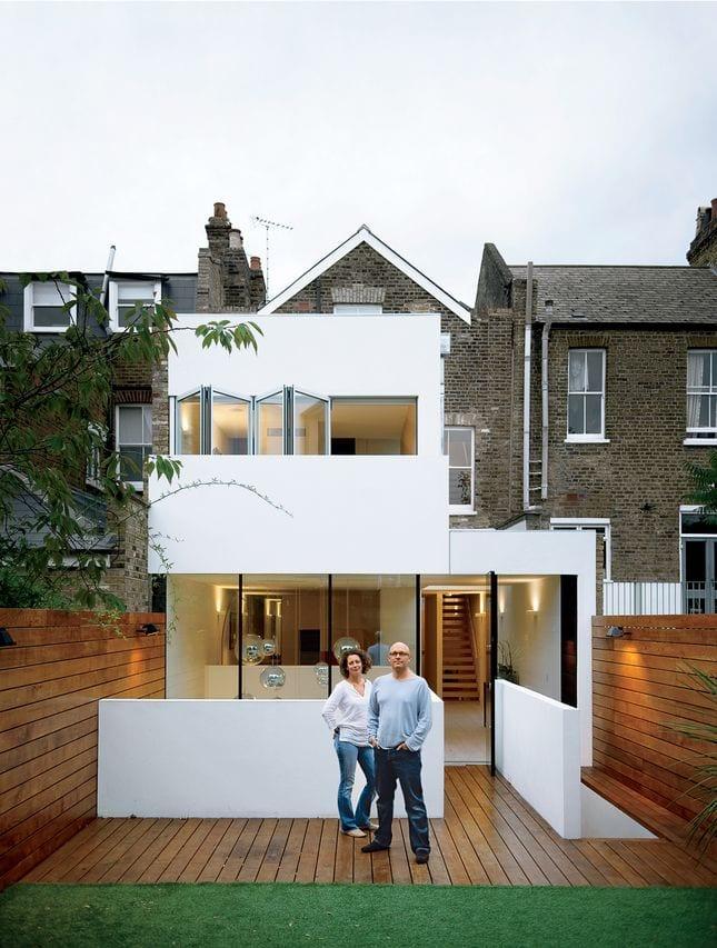 Planos y dise os de fachadas de casas peque as 13 for Diseno y decoracion de casas