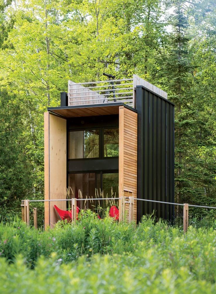Planos y dise os de fachadas de casas peque as 17 for Planos y fachadas de casas pequenas