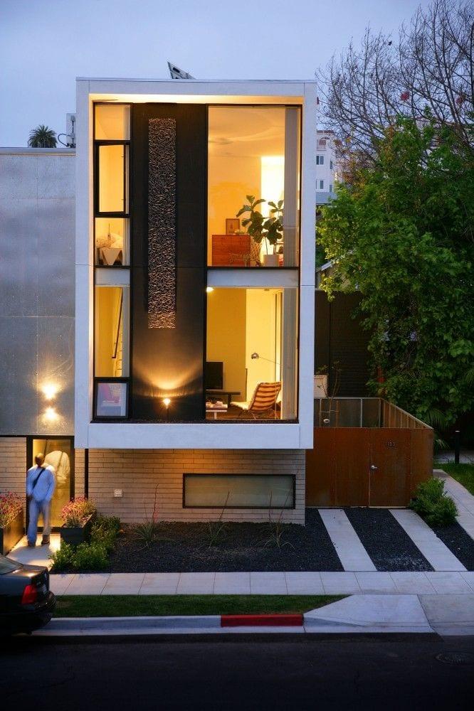 Planos y dise os de fachadas de casas peque as 18 for Decoracion de fachadas de casas pequenas