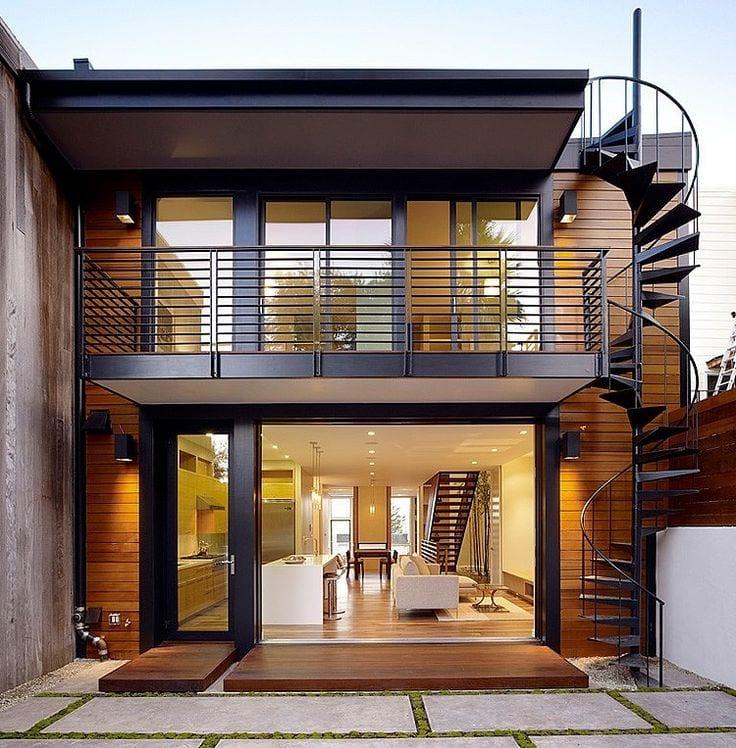Planos y dise os de fachadas de casas peque as curso de for Disenos de casas pequenas