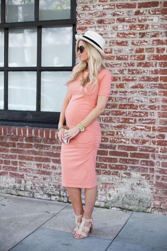 Vestido Casual Para Embarazadas (6) - Curso De Organizacion Del Hogar Y Decoracion De Interiores