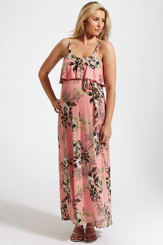 a5dd786ae vestidos de verano largos para embarazadas